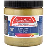 Opaque Fabric Screen Printing Ink Colour: Gold, Size: 8 oz: more info