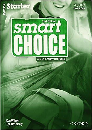Book Smart Choice: Starter: Workbook