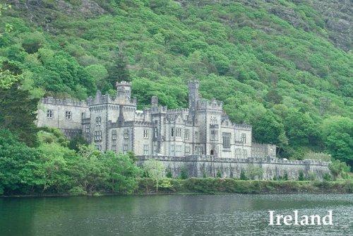 Kylemore Abbey CASTLE IRISH IRELAND TRAVEL TOURISM VISIT LARGE POSTER REPRO ()