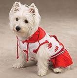Valentine Dog Dress - Casual Canine One Love Dog Tennis Dress - Small