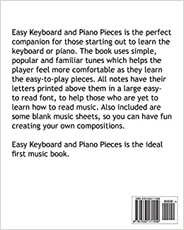 Amazon.com: Easy Keyboard and Piano Pieces: 30 Easy-to-play Pieces ...