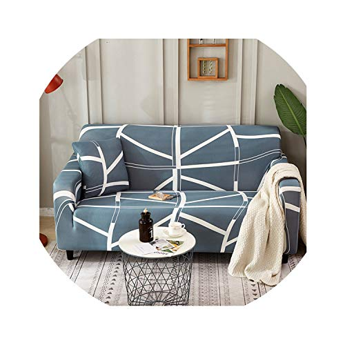 European Stretch Sofa Cover All-Inclusive Printing Non-Slip Leather Universal Sofa Cover Sofa Cushion Sofa Towel Sofa Cover,Double 145-185Cm,Mirage