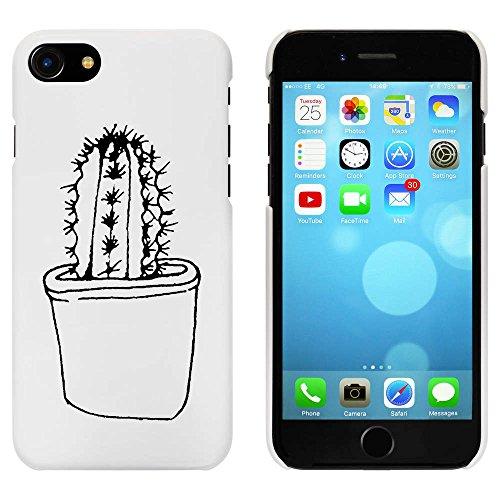 Blanc 'Cactus' étui / housse pour iPhone 7 (MC00090729)