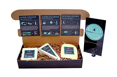 Perfect Partners Cheese for White Wine Pairing Box, 24 Ounce