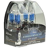 HELLA H71071252 Optilux XB Series H10 Xenon White Halogen Bulbs, 12V, 42W, 2 Pack