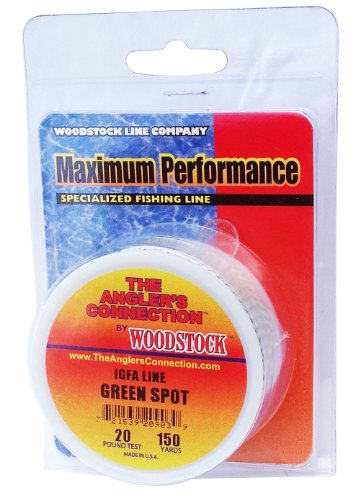 Woodstock IGFA Dacron Fishing Line, 50 Yards/12# Test,