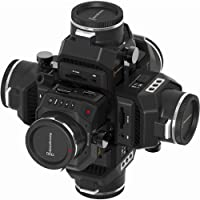 360RIZE      360 video 4, 5 or 6-camera 360 video rig for Blackmagic Design Micro Cinema 2K and Micro Cinema Studio 4K cameras Black