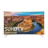 "Samsung UN55KS8500FXZA Curved 55"" 4K Ultra HD Smart LED TV, Black, Silver (2016 Model)"
