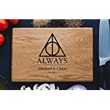 Always Harry Potter After all this time Custom Personalized Engraved Cutting Board Wedding Gift, Anniversary Housewarming Gift Birthday Snape harry07