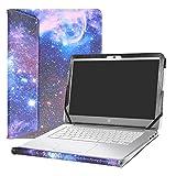 Alapmk Protective Case Cover For 14'' HP Chromebook 14 14-akXXX 14-xXXX 14-qXXX & HP Chromebook 14 G1 G2 G3 G4 Series Laptop(Warning:Not fit HP Chromebook 14 G5/14-caXXX Series),Galaxy