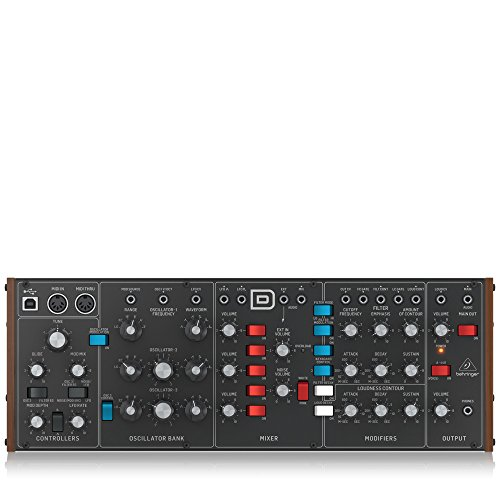 Great Features Of BEHRINGER Synthesizer (MODELD)