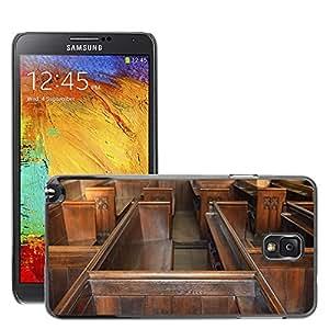 Etui Housse Coque de Protection Cover Rigide pour // M00153332 Craft Antecedentes Arquitectura Iglesia // Samsung Galaxy Note 3 III N9000 N9002 N9005