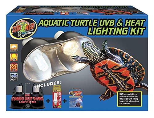 51ODAaTQq2L - Zoo Med Aquatic Turtle Uvb & Heat Lighting Kit