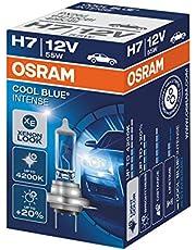 OSRAM 64210CBI COOL BLUE INTENSE H7, halogen headlight lamp, 64210CBI, 12 V passenger car, 1 folding carton box (1 unit)