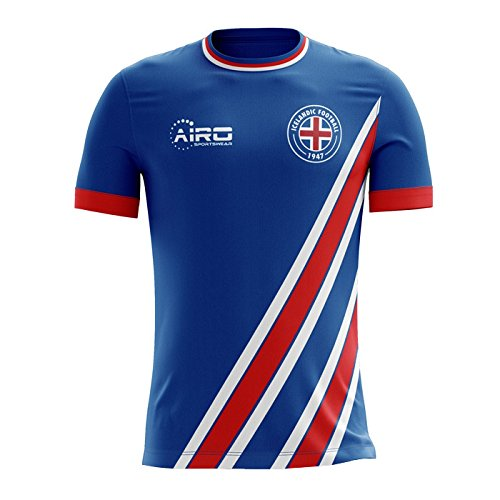 維持徹底的に支払いAiroスポーツウェア2018 – 2019アイスランドホームConceptフットボールシャツ