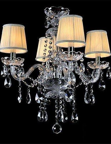DXZMBDM® Moddern Crystal Chandelier with 4 Lights , 220-240v