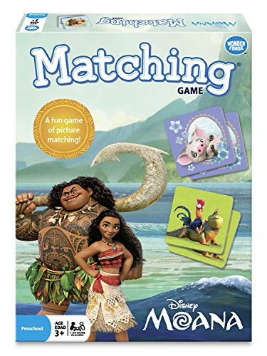 Wonder Forge Disney Moana Matching Game