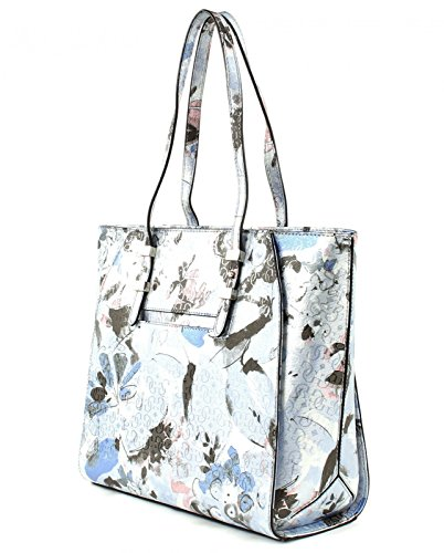 Guess gia tote Shopping bag Blue floral