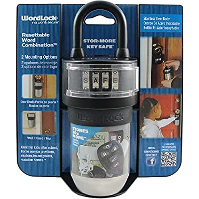 Wordlock(r) Ks-052-Bk Stor-More Key Safe(tm)