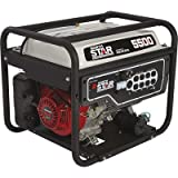 NorthStar Portable Generator - 5,500 Surge Watts, 4,500 Rated Watts, EPA and CARB-Compliant