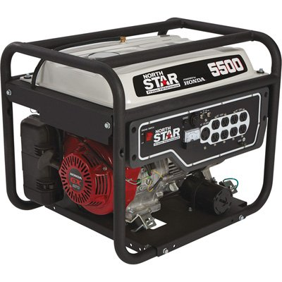NorthStar convenient Generator - 5,500 Surge Watts, 4,500 Rated Watts, EPA and CARB-Compliant Cheap For Now