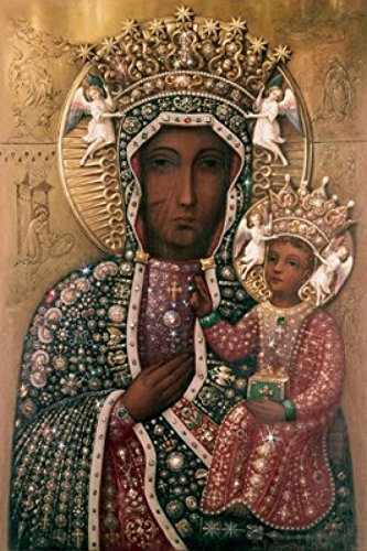 black-madonna-of-czestochowa-icons-jewels-and-precious-stones-poster-print-18-x-24