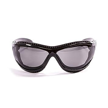Ocean Sunglasses Tierra de Fuego - Gafas de Sol polarizadas - Montura : Negro Brillante -