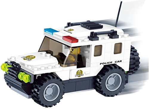 High Speed Police Car imaginative product image