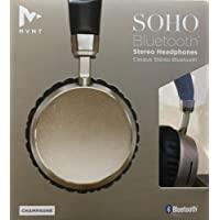 MVMT Soho Bluetooth Wireless Rechargeable Stereo Headphones Champagne
