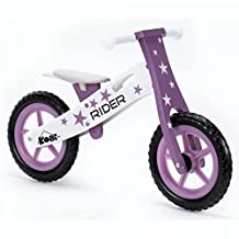 Kobe WBB-PS Wooden Balance Running Bike Birch No Pedals Perfect Training for Toddlers & Kids