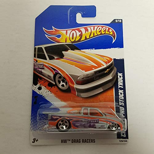 Chevy Pro Stock Truck 2011 Hot Wheels HW Drag Racers 1/64 diecast car No. - Drag Cars Pro Stock