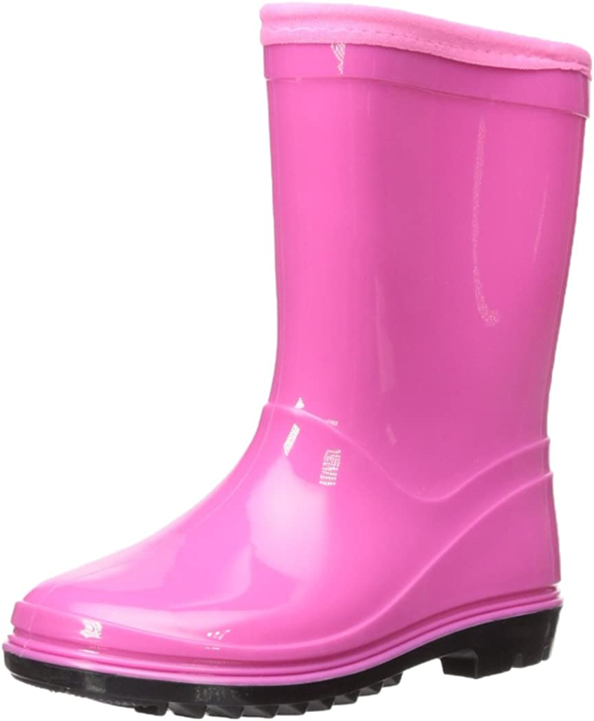 Itasca Kids Youth Puddle Hopper Waterproof Rain Boot