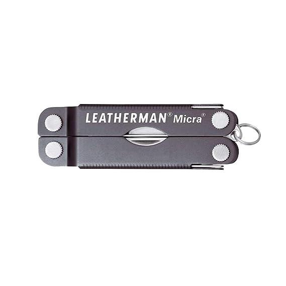 LEATHERMAN LT64380181 HERRAMIENTAS LLAVERO, Gris