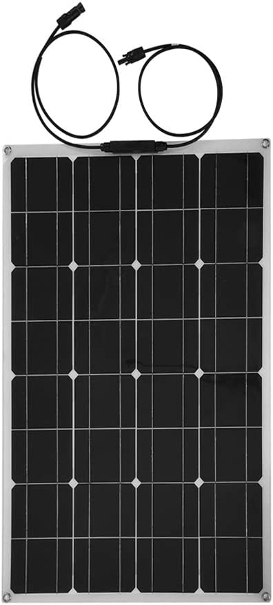 60W 12V Portable Waterproof Solar Power Panel, Outdoor Usb Flexible Solar Charger Solar Power Bank für Sport/Travel/Camping/Hiking