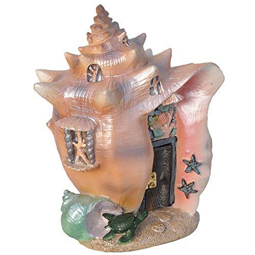 Garden Shell (Fiddlehead Fairy Garden Conch Condo Shell Fairy House)