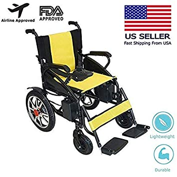 Amazon.com: 2019 Updated Electric Wheelchairs Silla de Ruedas ...