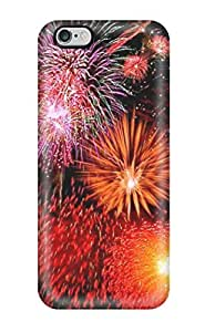 MMZ DIY PHONE CASEPerfect Pretty Fireworks Case Cover Skin For Iphone 6 Plus Phone Case