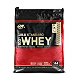 OPTIMUM NUTRITION GOLD STANDARD 100% Whey Protein Powder, Rocky Road, 10 Pound For Sale