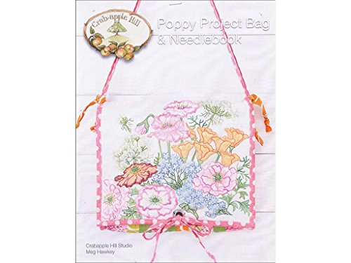 Crabapple Hill Poppy Project Bag & Needlebook Pattern