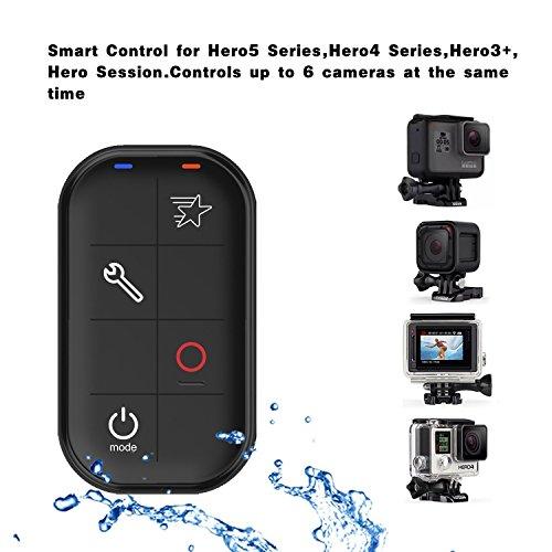GoPro 원격, GoPro 스마트 방수 와이파이 무선 원격 제어 GoPro 영웅 LCD, GoPro Hero5 세션, Hero4 실버, Hero4 블랙, Hero3, 영웅 Sess/GoPro Remote, GoPro Smart Waterproof Wifi Wireless Remote Control for GoPro Hero LCD, GoPro Hero5 Sess...