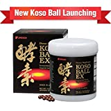 Umeken Koso Ball EX - New Fermented Fruits and Vegetables Extract Containing Enzymes for Energy, Digestion, Immune System. Made in Japan.