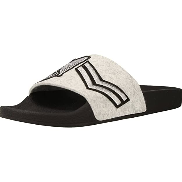 Sandalo THE WHITE BRAND SHIELDS FELT Color Nero