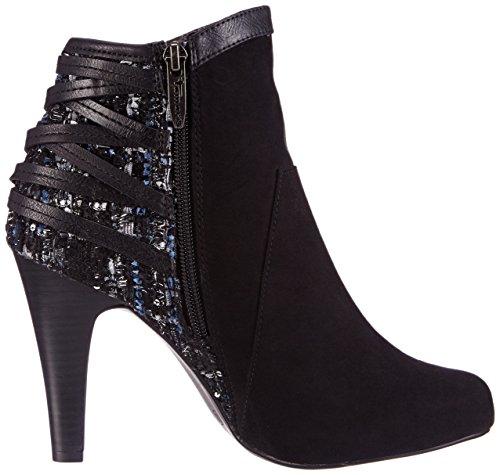 Tamaris 25374 - botas de material sintético mujer multicolor - Mehrfarbig (Black Comb 098)