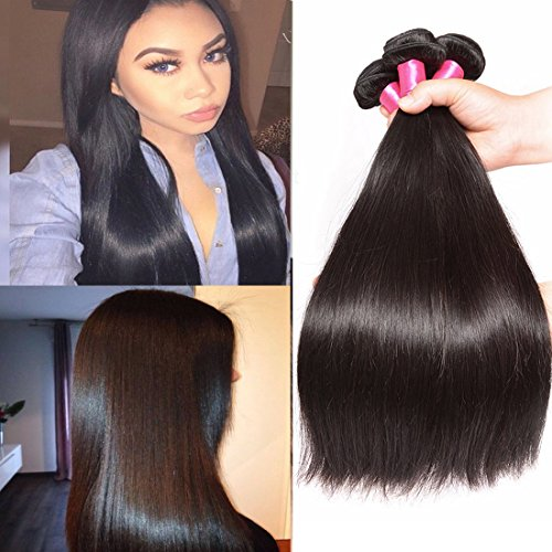 Malaysian-Straight-Hair-3-Bundles-7a-100-Unprocessed-Remy-Human-Hair-Bundles-Weave-Natural-Color-95-100gpc-Mixed-Length