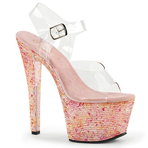 pink Crystal Crystalize 308tl Pleaser Clr twz0qf
