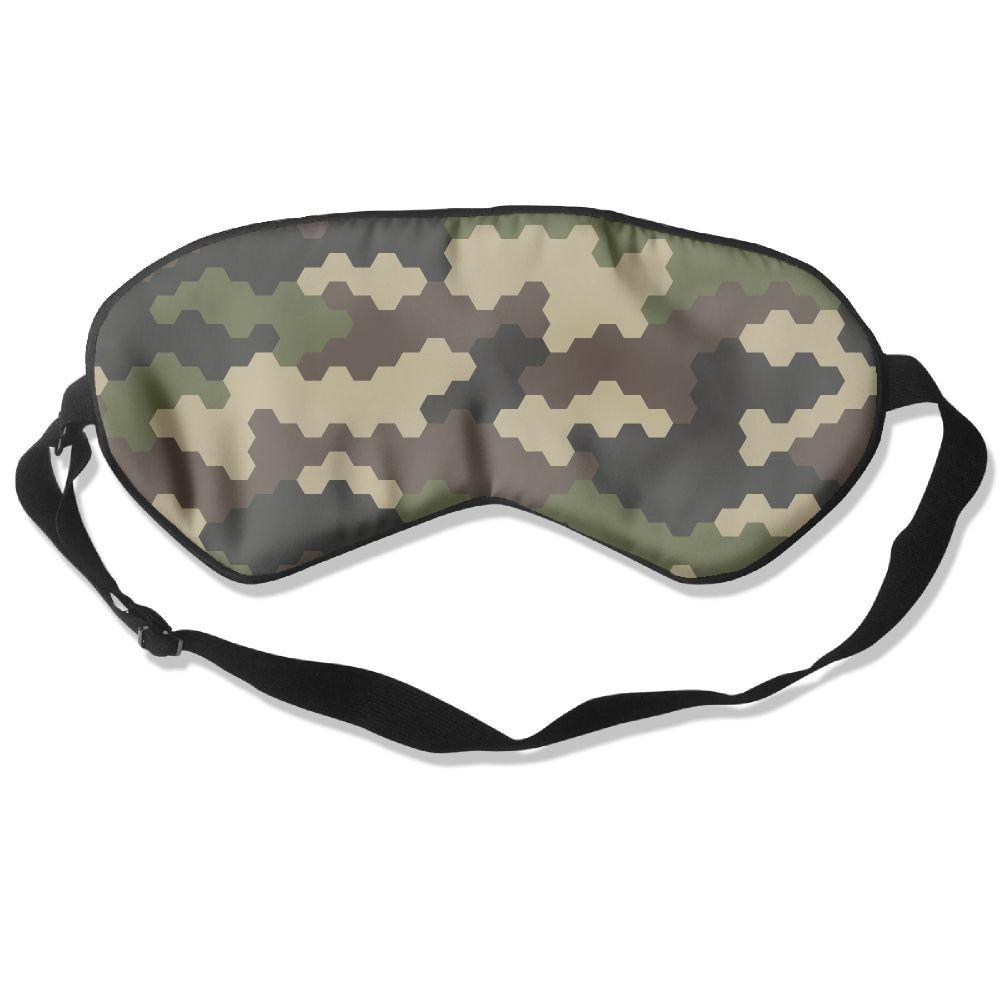 COMFORTLIFE Camouflage Pattern Militaristic 99% Eyeshade Blinders Sleeping Eye Patch Eye Mask Blindfold For Travel Insomnia Meditation by COMFORTLIFE