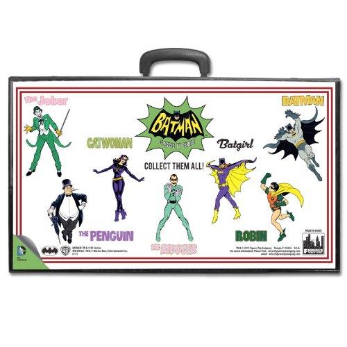 Batman Full Body Comic Art Action Figure Carrying Case for 8 Inch Figures