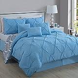 Avondale Manor 7 Piece Essex Pinch Pleat Comforter Review and Comparison