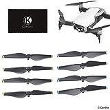 Drone Repair Parts - CamKix Replacement Propellors Blades Compatible with DJI Mavic Air - 4 Blades or 8 Blades (Black) (8 Blades - 2 Sets (Black))