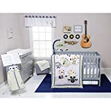 Trend Lab Safari Rock Band Baby Bedding Collection 6-pc. Crib Set